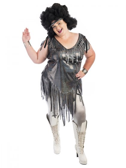 70s Disco Plus Size Costume, 1970s Plus Size Costume, Disco Plus Size Costume, Studio 54 Plus Size Costume,