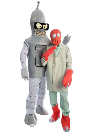 Futurama Group Costume, Bender, Dr Zoidberg, Space Costume