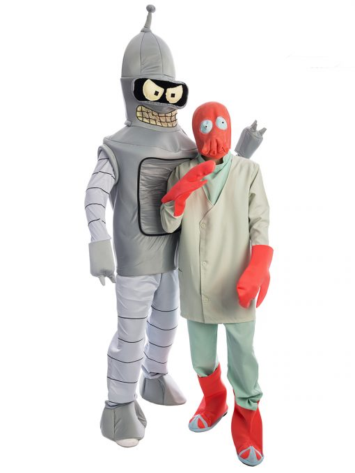 Futurama Group Costume, Bender, Dr Zoidberg, Space Costume