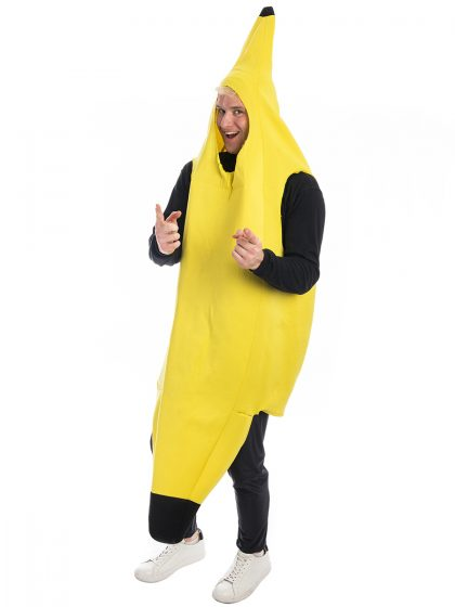 Banana Novelty Costume, Banana Costume, Fruit Costume, Bananna