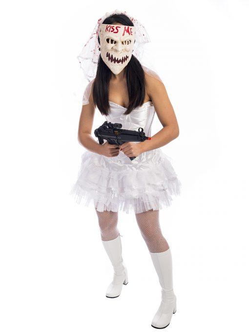 Purge Horror Bride Costume, Purge Costume, Zombie Bride, Bride of Chucky, The Purge
