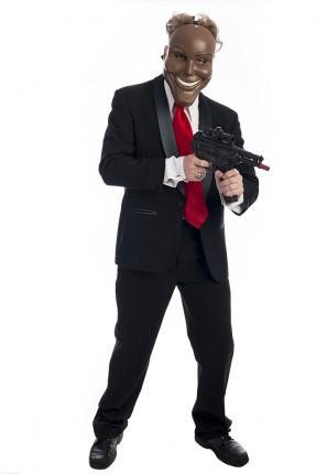 Purge Man Horror Costume, Purge Costume, The Purge,
