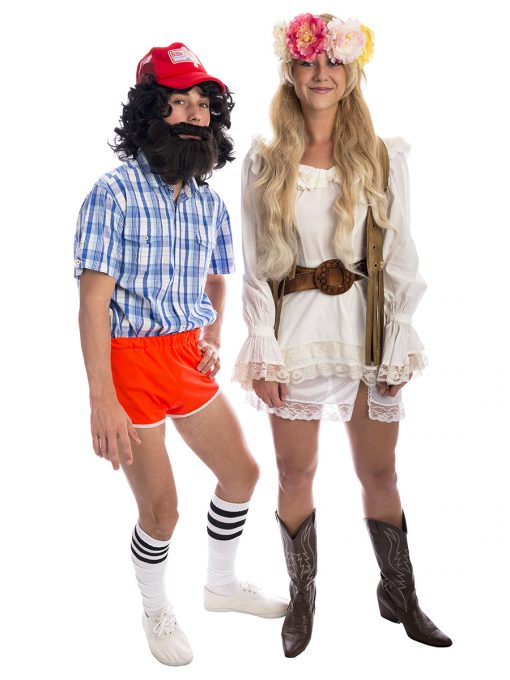 Jenny and Forrest Gump Coulpes Costume, 1960s costume, Forrest Gump, Forest Gump,