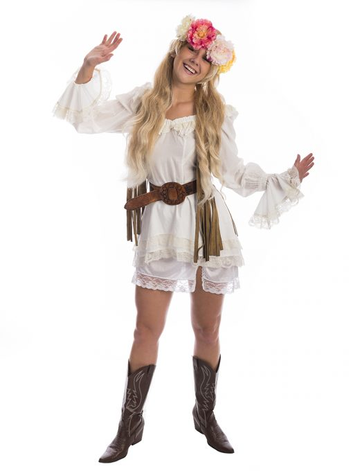Jenny Forrest Gump 60s Costume, Jenny Forrest Gump Costume, 60s Hippy costume, 1960s flower power