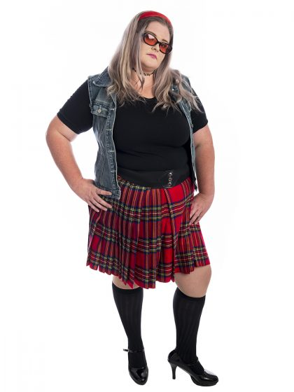 90s Grunge Plus Size Costume, 90s Plus Size Costume, 90s School Girl Costume, 1990s costume, plus size costumes
