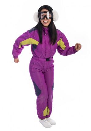80s retro ski suit costume, vintage ski, eighties ski, 80s aerobics, apres ski costume