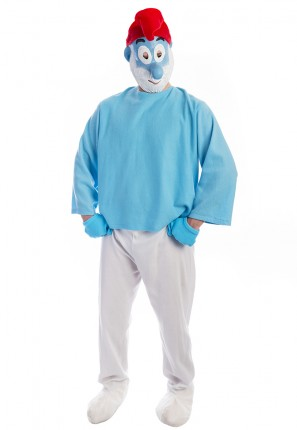 Papa Smurf Costume, Pappa smurf costume, smurf, smurfette