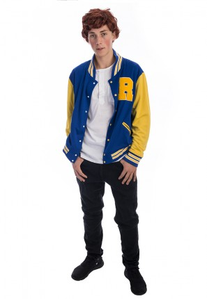 Archie Andrews Riverdale Costume, Archie Andrews Costume, Archie Comics Costume, Riverdale Costume, Riverdale High