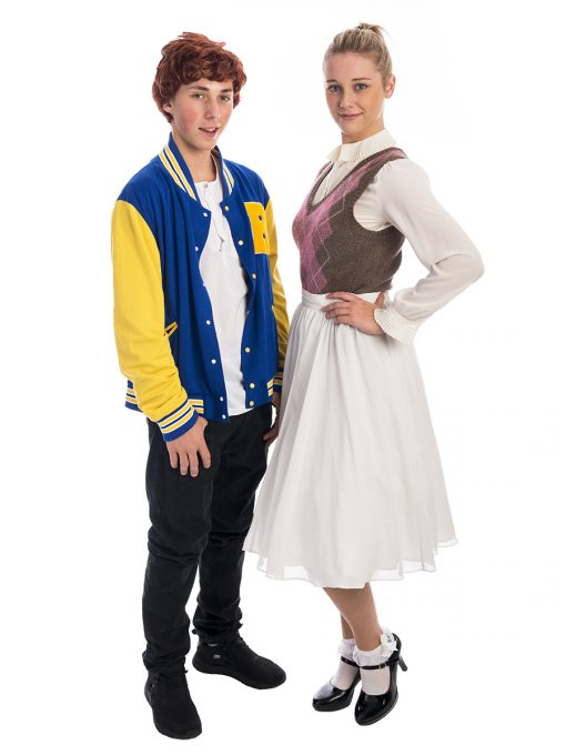 Archie and Betty Riverdale Costume, Betty Cooper Costume, Archie Andrews