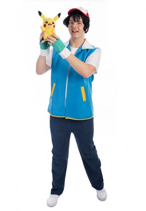 Ash Ketchum Pokemon costume, Ash Ketchum Costume, Pokemon Costume, Pikachu Costume
