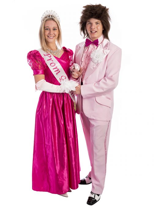 80s prom couple costume, 80s prom king and queen, 80s prom king, 80s prom queen, prom king and queen, eighties costume