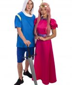 Adventure Time Duo Costume, Adventure Time Costume, Princess Bubblegum, Finn the Human