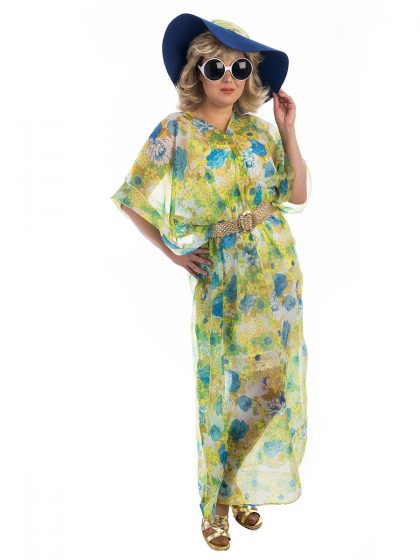 Palm Springs 70s Lady Costume, Palm Springs Costume, 1970s costume, seventies costume