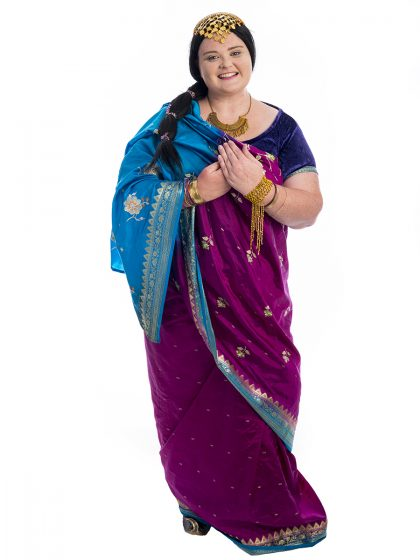 Bollywood Indian Plus Size Costume, Bollywood Plus Size Costume, India, Indian, Sari