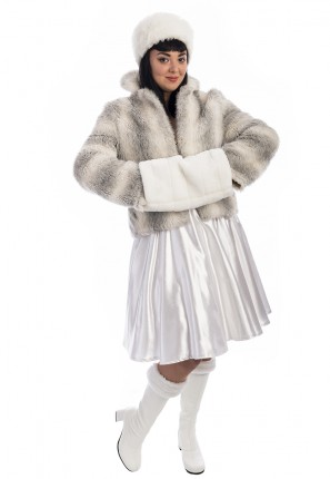 White Russian Girl Costume, Russian Costume, Winter, Bond Girl Costume, James Bond