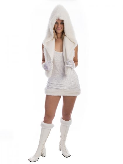 Cutie Eskimo Winter Costume, Winter Costume, Russian Costume, Eskimo Costume, White Party, Kylie Jenner