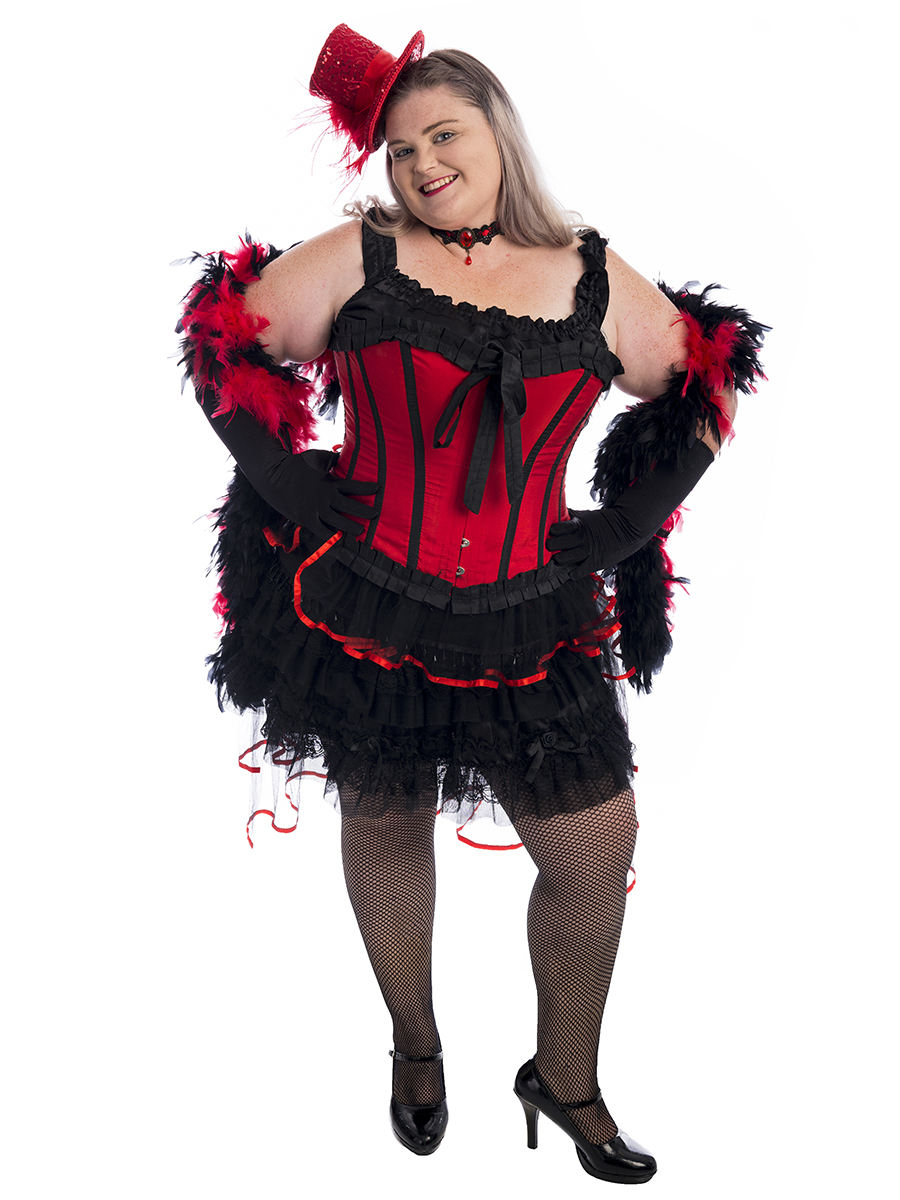 55a0edc6a00e Burlesque Showgirl Plus Size Costume -Creative Costumes