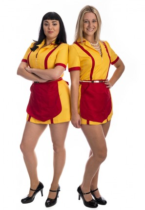 2 Broke Girls Costume, Two Broke Girls Costume, Max and Caroline Costumes