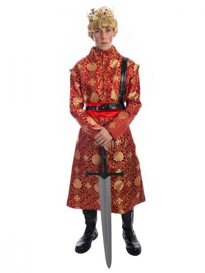 King Joffrey Baratheon Costume, Joffrey Costume, Game of thrones, Game of thrones costume, got, lannister,