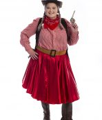 Rodeo Cowgirl Plus Size Costume, Cowgirl Plus Size Costume, Plus Size Costumes