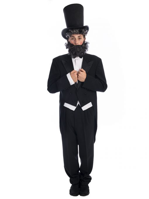 Abraham Lincoln Costume, Abraham Lincoln, Lincoln Costume, Night of the Notables Costumes, President Costume