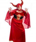 Devil Lady Plus Size Costume, Devil Costume, Devil Plus Size Costume, Demon Costume, Plus Size Halloween Costume