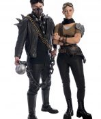 Mad Max and Furiosa Couples Costume, Mad Max Costume , Furiosa Costume, Mad Max, Mad Max Fury Road, Dystopia,