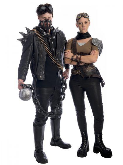 Mad Max and Furiosa Couples Costume, Mad Max Costume , Furiosa Costume, Mad Max, Mad Max Fury Road, Dystopia,