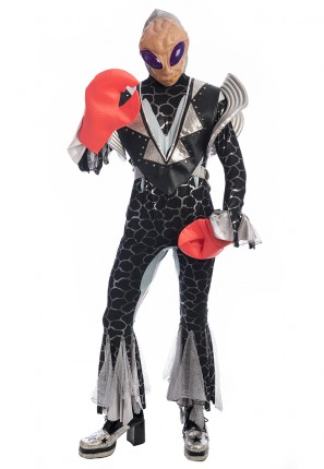 Bugzo the Alien Costume, Alien Costume, Space Costume, Alien Space Costume