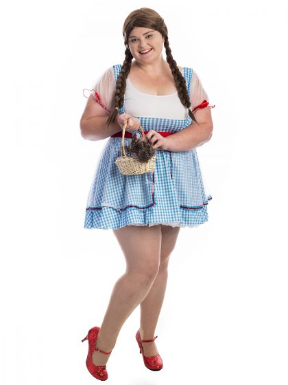 Dorothy Plus Size Costume, Dorothy Costume, Wizard of Oz Costume, Dorothy Oz costume