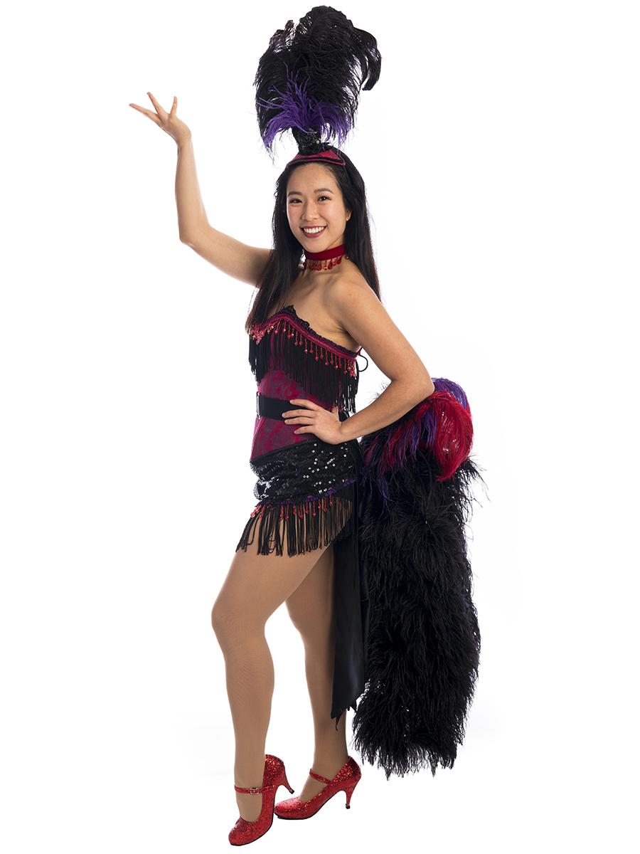c28461a27f917 Burlesque Showgirl Costume, Burlesque Costume, Showgirl costume, can can  dancer costume, las