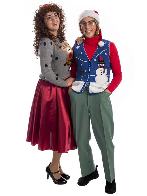 Ugly Christmas Jumper Couples Costume