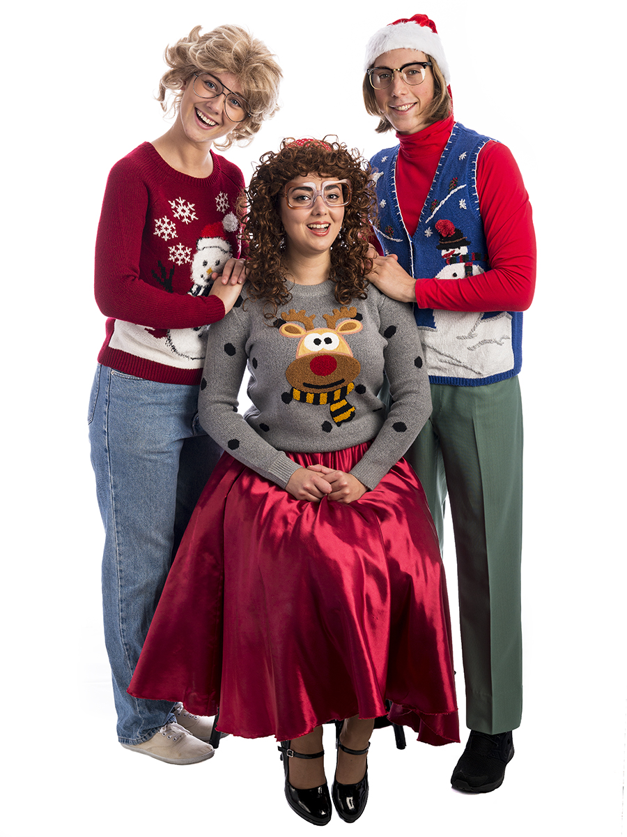 Ugly Christmas Family Pictures.Awkward Family Christmas Group Costume Creative Costumes