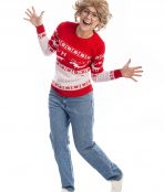 Ugly Reindeer Christmas Jumper Costume, Christmas Sweater, Ugly Jumper, Christmas Costume, xmas costume