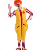 Ronald Mcdonald Clown Costume, Ronald McDonald costume, McDonalds Costume, Clown Costume