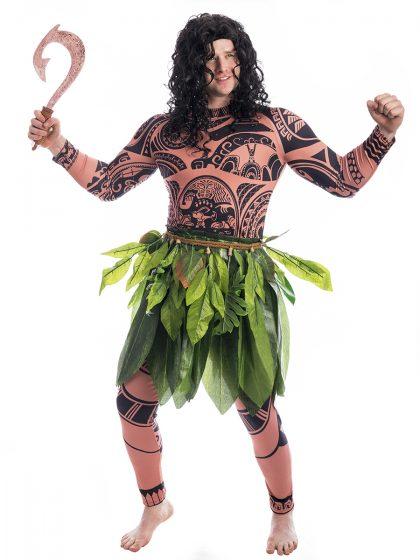 Maui Moana Costume, Maui Costume, Moana Costume, Moana Disney, Samoan Costume,