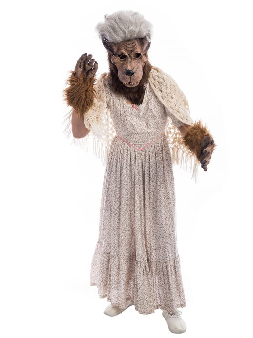 Grandma Big Bad Wolf Costume, Granny Big Bad Wolf Costume, Grandma Wolf Costume, Grandma Costume, Red Riding Hood Costume