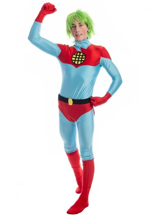 captain planet costume, captain planet, 90s costume, superhero costume