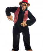 Circus Monkey Costume, Performing Chimp Costume, Monkey Costume,