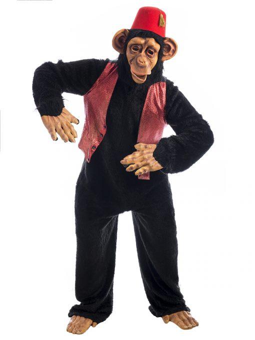 Circus Monkey Costume, Performing Chimp Costume, Monkey Costume,