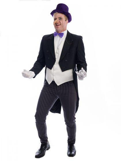 Penguin Super-Villain Costume, Penguin Batman Costume, Batman Costume, Penguin Costume