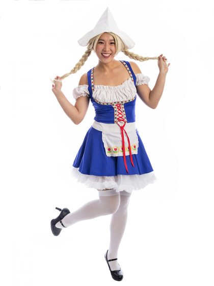 Dutch Girl Costume, Dutch Costume, Netherlands Costume