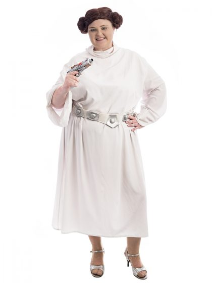Princess Leia Plus Size Costume, Princess Leia Costume, General Organa Costume, Plus Size Costumes