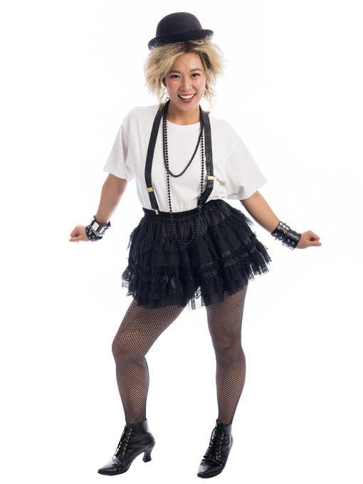Madonna Street Urchin Costume, Madonna Costume, 80s costume