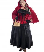 Red Riding Hood Plus Size Costume, Red Riding Hood Costume, Plus Size Costumes