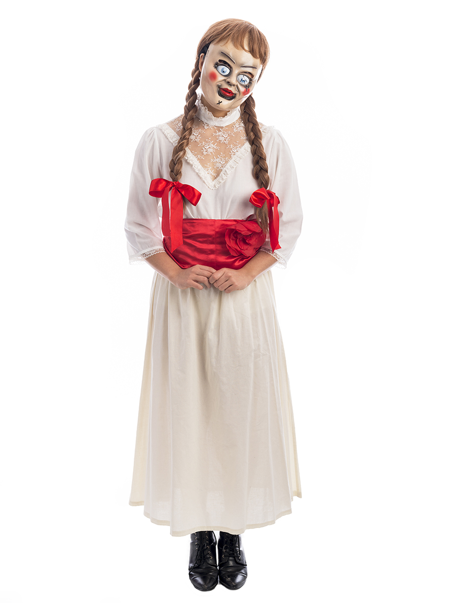 annabelle haunted doll costume annabelle costume annabelle doll costume annabelle the doll