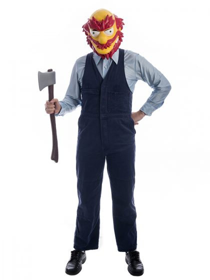 Grounds Keeper Willie Simpsons Costume, Groundskeeper Willie Costume, Grounds Keeper, Simpsons Costumes