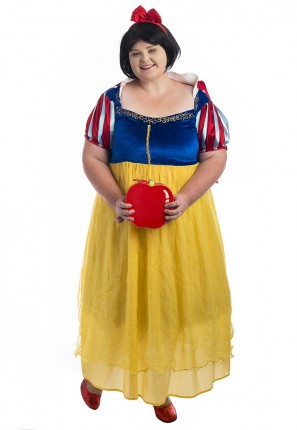 Snow White Plus Size Costume, Snow White Costume, Plus Size Princess Costume, Snow White, Princess Costume