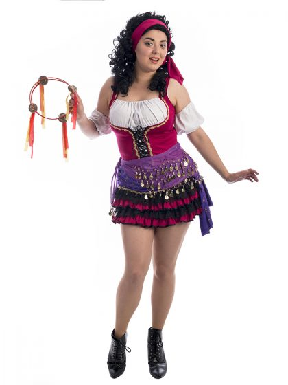 Esmerelda Cute Notre Dame Costume, Esmerelda Costume, Hunchback of Notre Dame costume, Hunchback costume