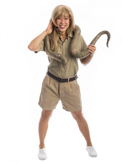 Bindi Irwin Costume, Steve Irwin Costume, Bindi Costume, The Irwins, Bindy Irwin Costume